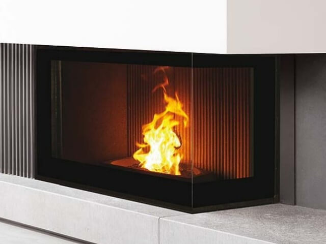 Pellets fireplace