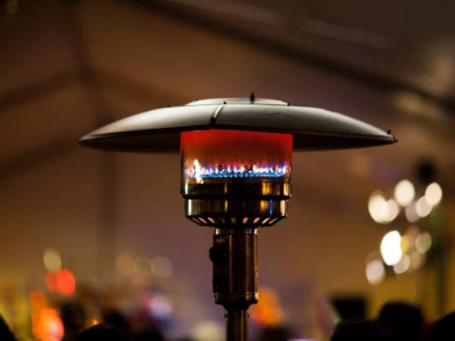 Indoor and outdoor heaters for restaurants and cafes