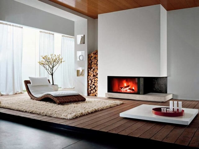 Algarve wood burning fireplace for sale