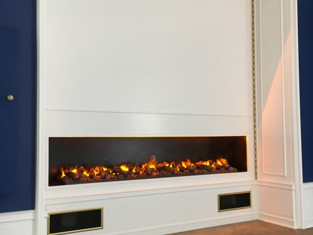 glammfire 3d plus electric fireplace
